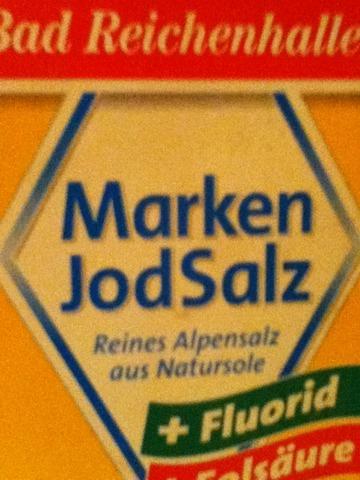 Bad Reichenhaller Marken Jodsalz +Fluorid +Folsäure 500 g