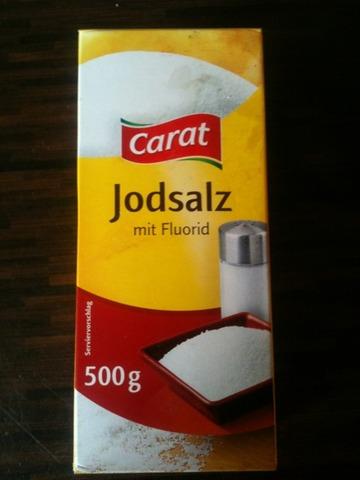 Carat Jodsalz mit Fluorid feinkörnig 500 g