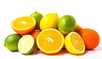 Zitrusfrüchte mit Karotinoiden