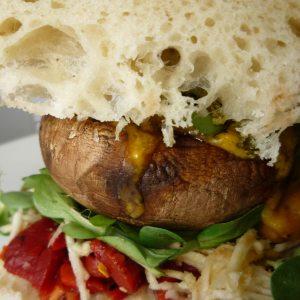 Champignon-Burger