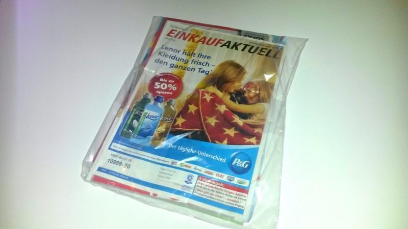 Otto Gartenmobel Polyrattan : Einkauf Aktuell Werbeheftchen auch weiterhin in Plastikverpackung