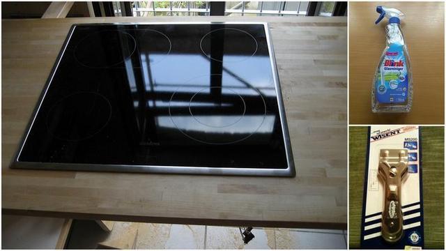 ceran felder nat rlich und richtig reinigen. Black Bedroom Furniture Sets. Home Design Ideas