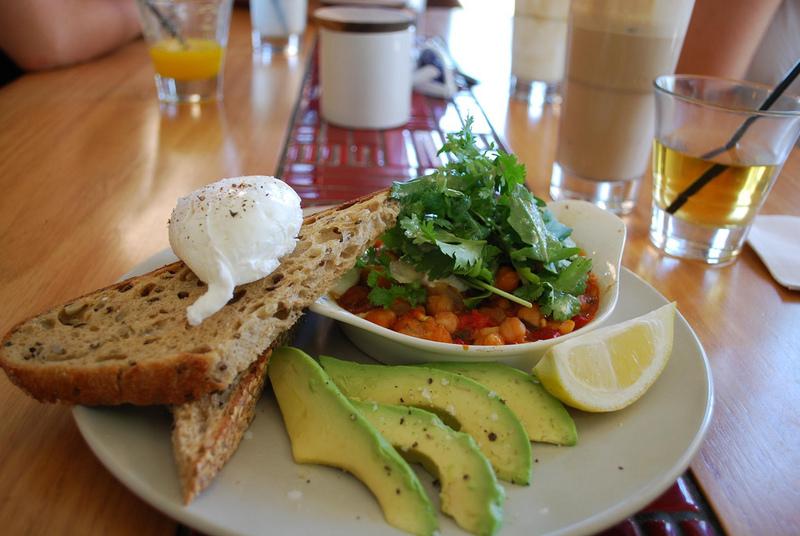 avocado ei frühstück