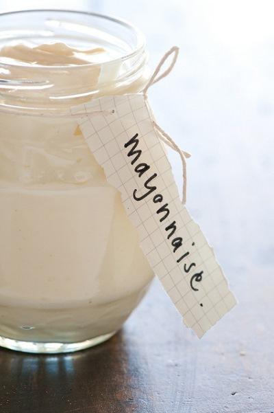 Mayonnaise im Glas