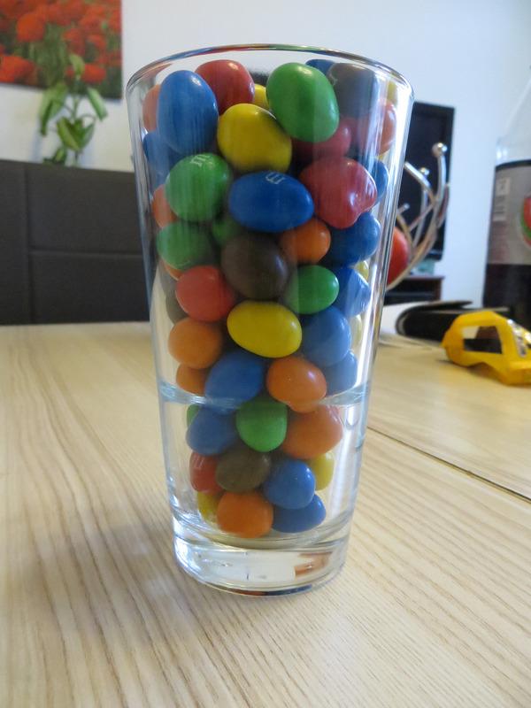 schokolade im glas