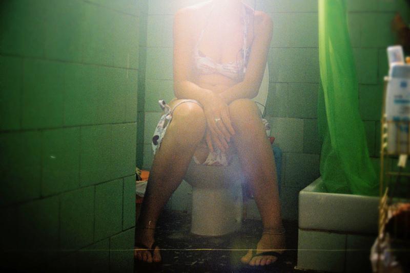 Espiando a mi tia en el toilet