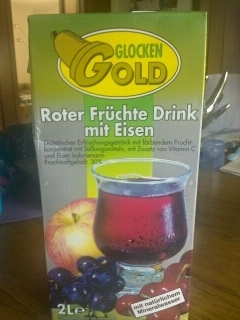 Glockeng.Roter Früchte Drink Rote 4013265001107