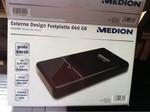 Medion Externe Design Festplatte 640 GB