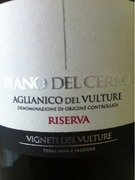 zum Produkt Piano del Cerro Aglianico del Vulture Riserva DOC