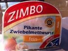 Zimbo Pikante Zwiebelmettwurst