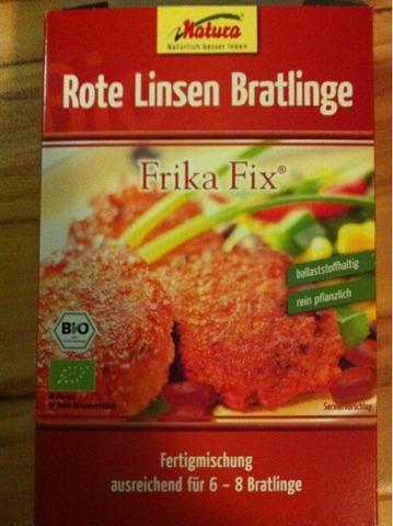 Rote Linsen Bratlinge, Frika Fix