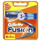 Gillette Fusion Systemklingen 5er