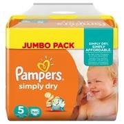 Pampers Simply Dry Junior 66 Stk.